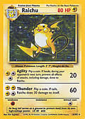 Raichu aus dem Set Basis
