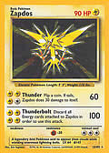 Zapdos aus dem Set Basis