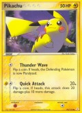 Pikachu aus dem Set EX Holon Phantoms