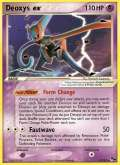 Deoxys ex aus dem Set POP 4