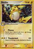 Raichu aus dem Set EX Power Keepers