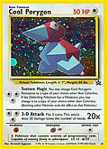 Cool Porygon aus dem Set Blackstar Promo