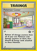 Pokémon Center aus dem Set Blackstar Promo