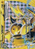 Raichu TURBO aus dem Set XY TURBOstart