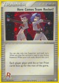 Hier kommt Team Rocket! aus dem Set EX Team Rocket Returns