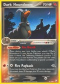 Dunkles Hundemon aus dem Set EX Team Rocket Returns