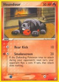 Hunduster aus dem Set EX Team Rocket Returns