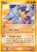 Onix aus dem Set EX Team Rocket Returns