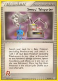 Swoop! Teleporter* aus dem Set EX Team Rocket Returns