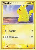 Pikachu aus dem Set EX Trainer Kit