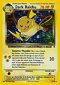 Dunkles Raichu aus dem Set Legendary Collection