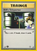 Bills Teleporter aus dem Set Neo Genesis